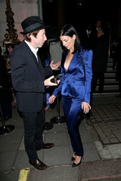 Liberty Ross shows up at book launch