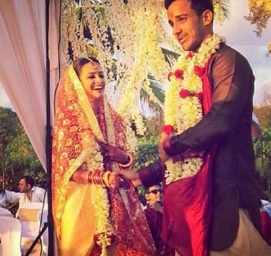 Anita Hassanandani wedding