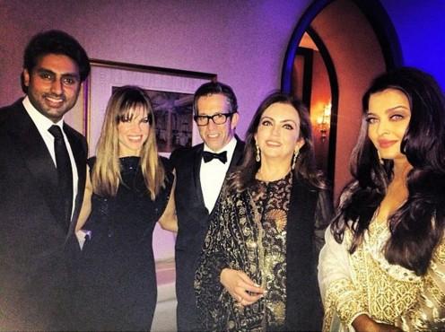 Photos: Sharon Stone and Hillary Swank attend amfAR event hosted by Aishwarya Rai Bachchan