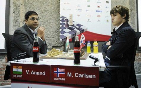 Viswanathan Anand faces Magnus Carlsen in Zurich