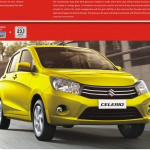 Maruti Celerio gets a good response with 1000 bookings per day