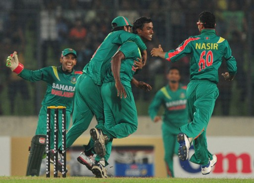 Afghanistan take on Bangladesh in the ICC Under 19 World Cup 2014