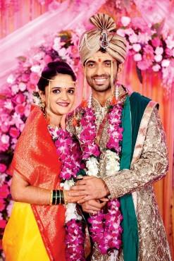 Photos: Ajinkya Rahane wedding reception held in Mumbai