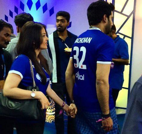 Aishwarya rai at the ISL 2014 (2)