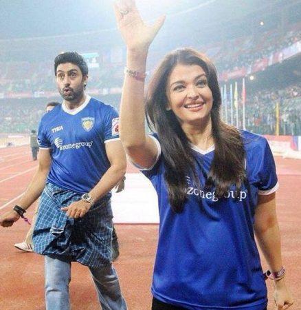 Aishwarya rai at the ISL 2014 (3)