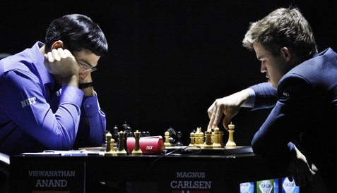 2014 World Chess: Anand vs Carlsen Game 10 Live Streaming