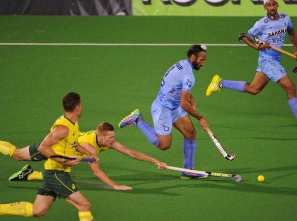 Ind vs Aus hockey 2014