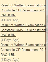 Rajashtan Constable Exam Results at Police.rajasthan.gov.in