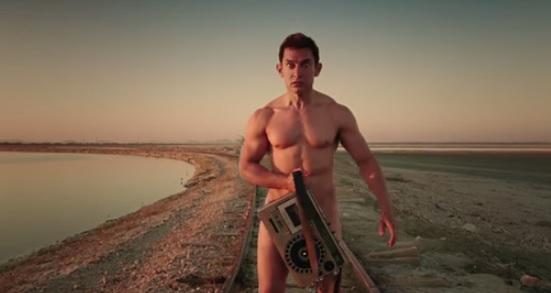 Amir Khan in PK movie