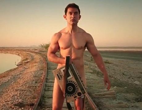 Amir Khan in PK taperecorder