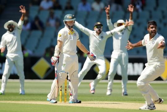 Live Cricket Score: India vs Australia 1st Test Adelaide