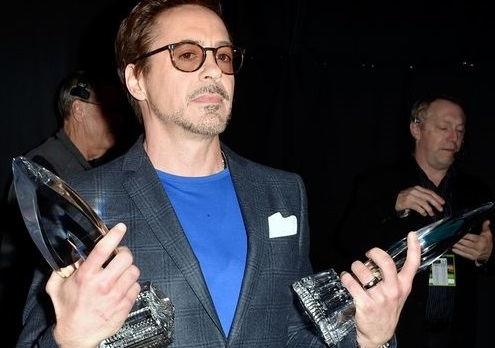 Robert Downey Jr wins double trophies at 41st Annual People's Choice Awards