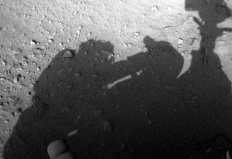 Nasa claims human presence in Mars