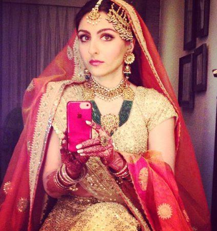 Soha Ali Khan last selfie as a single lady