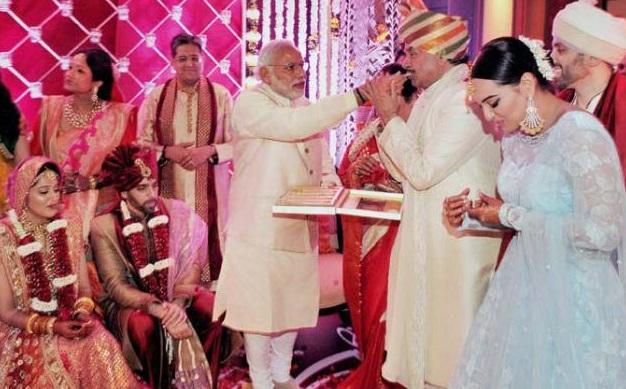 Sonakshi sinha brother wedding pics (5)
