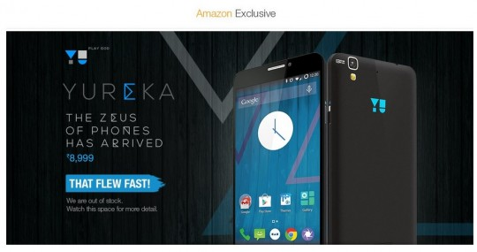 Micromax Yu Yureka available on Amazon: Check Review, Price and Features