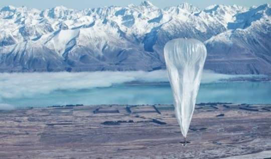 Google's balloon-powered Internet And Wind Energy Projects To Come To India
