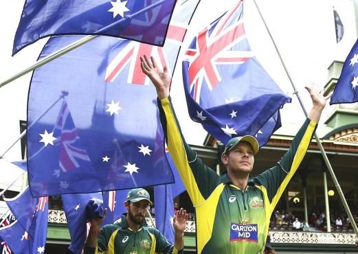 India vs Australia World Cup 2015 warm-up cricket live score