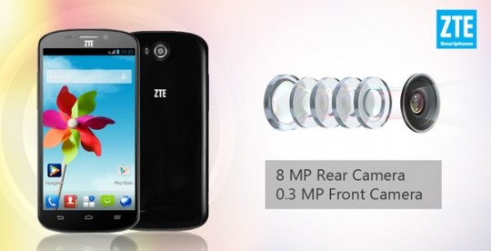 ZTE launches new budget smartphone exclusively on Ebay