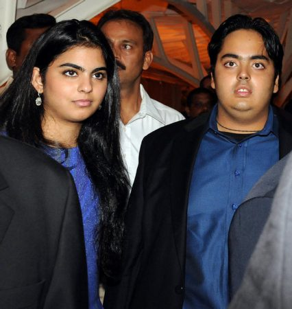 Ambani siblings
