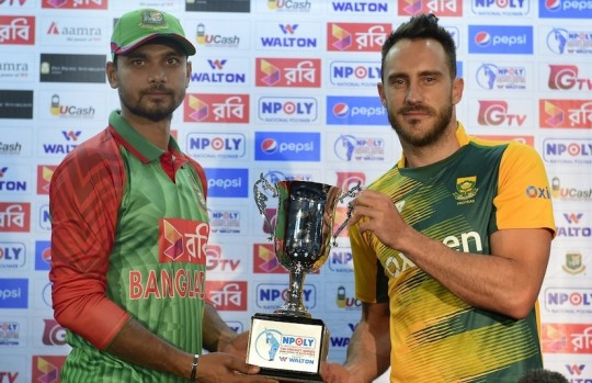 Bangladesh vs South Africa 1st t20 live streaming and cricket live score