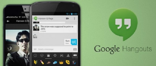 New Google Hangout is simplified now for android users