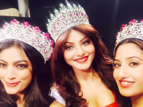 Photos: Urvashi Rautela Crowned Miss Diva 2015