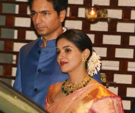 Asin and Rahul Sharma wedding reception photos