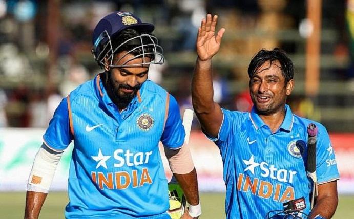 India vs Zim 2ns odi