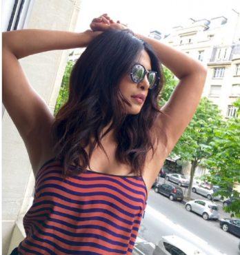 Priyanka Chopra posts a photo of her armpits to destroy the Armpit controversy