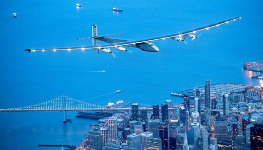 Solar Powered Plane 'Solar Impulse 2' lands in New York City