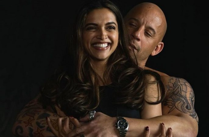Vin Diesel post an adorable pic of Deepika Padukone holding his 15-month-old daughter ss