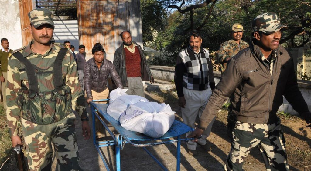 10 COBRA commandos killed in an IED explosion in Aurangabad Jungles