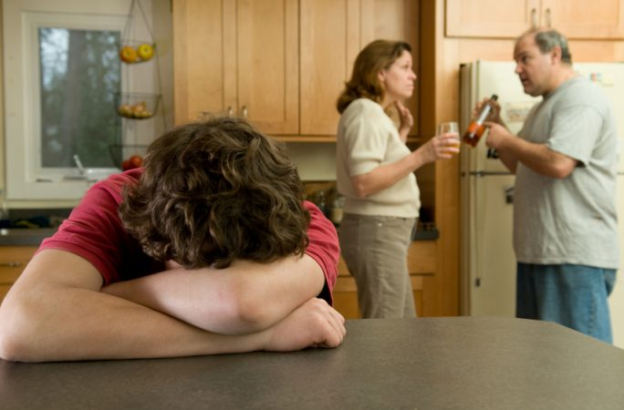 Parental drug alcohol substance abuse affects kid's growth Study