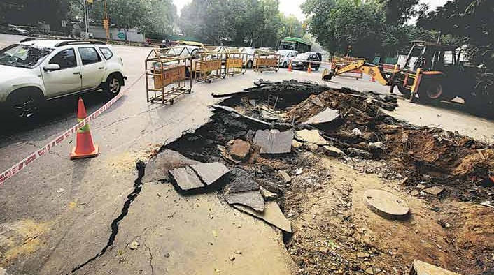 Doctors say bad roads in Capital leads to severe back problem