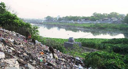 Dwarka ask National Green Tribunal to revive water body