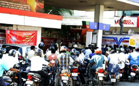 Petrol only for helmet users in Kochi, Trivandrum, and Kozhikode