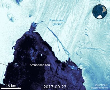 Massive iceberg thrice the size of midtown New York breaks off from the West Antarctic Ice Sheet