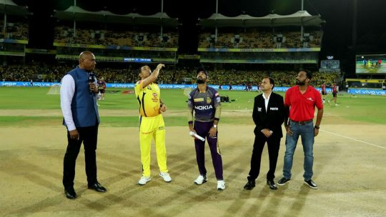 Chennai Super Kings vs Kolkata Knight Riders [CSK v KKR] and SRH v DC live score and streaming on Star Sports - IPL 2019