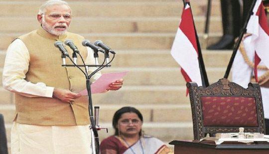 AAJ TAK Live: Modi Swearing-in ceremony, full cabinet list