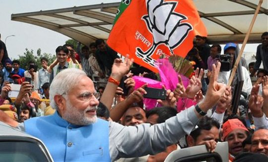 Election Results 2019 Live:  Aaj Tak, NDTV, TV9 News: West Bengal, Uttar Pradesh, Karnataka, MP - BJP, NDA gets majority