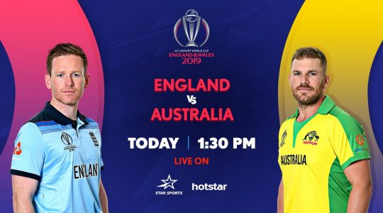 Star Sports, Hotstar live streaming England vs Australia match: ICC WC 2019 live score