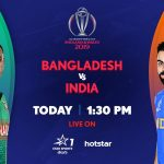 Star Sports, Hotstar live cricket streaming India vs Bangladesh: ICC WC 2019 live cricket score