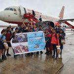 Hubli Knights Ladies Circle 143 take school kids on 'FLIGHT OF FANTASY' to Bangalore