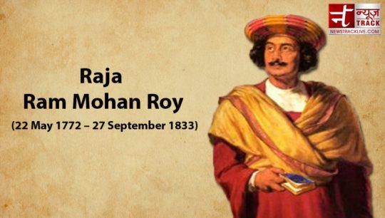 Raja Ram Mohan Roy's 249th birth anniversary celebrated on May 22