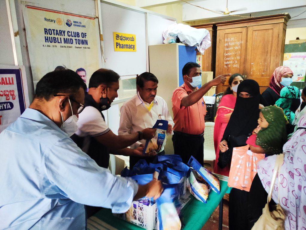 Breast Feeding Week Rotary Hubli