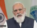 Indian PM Narendra Modi addressing the Shanghai Corporation Organization (SCO) Summit