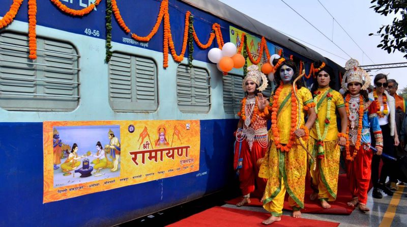Embark on a soul-stirring journey to #India's most sacred pilgrimage destinations onboard #IRCTC's special 'Dekho Apna Desh Deluxe AC Tourist Train'