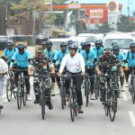 Tejasvi Surya Joins CRPF's #AzadiKaAmritMahotsav rally with a 10 km ride in Hyderabad