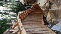 Tourists deface 150-year-old skywalk in Nelong Valley, Uttarkashi